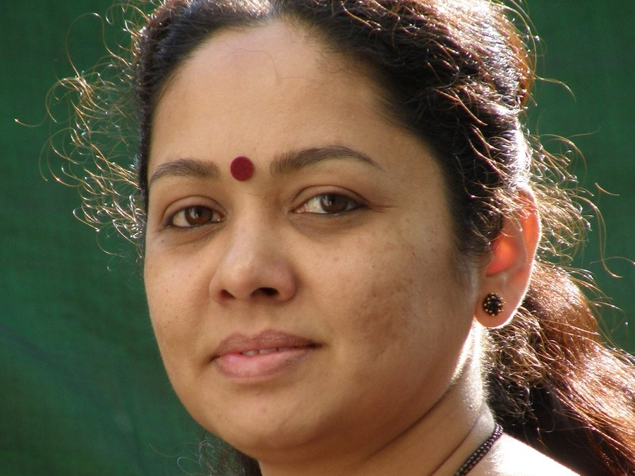 A photo of Rupa Hassan the writer poet and activist